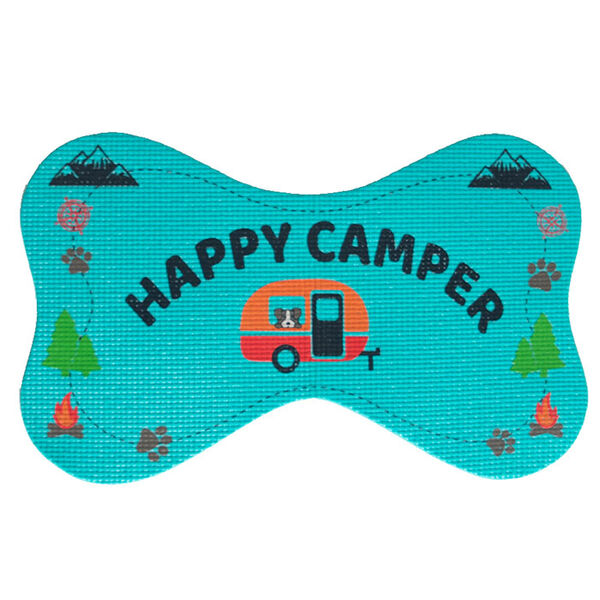 Happy Camper Pet Bowl Mat