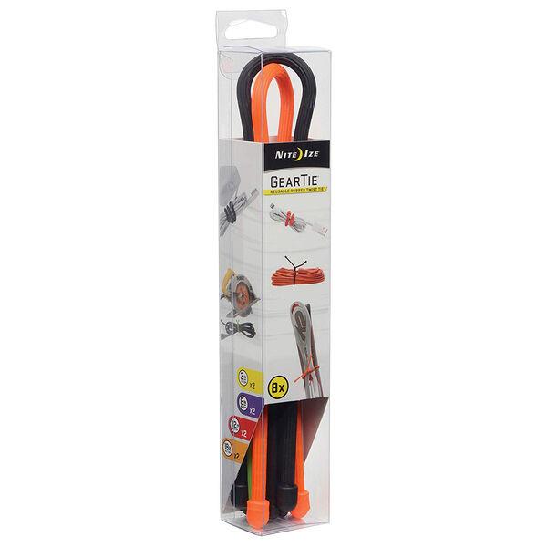 Nite Ize Reusable Rubber Twist Tie, 8-Pack