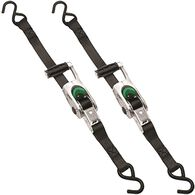 "Titan Max Grip Ratchet Tie Down, 1"" x 14', 3000 lbs., 2 Pack"