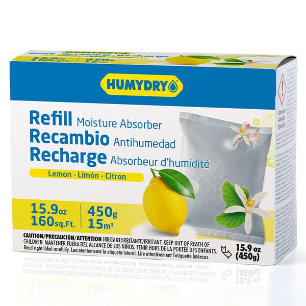 HUMYDRY Moisture Absorber Single 15.9-oz. Refill, Lemon Scent