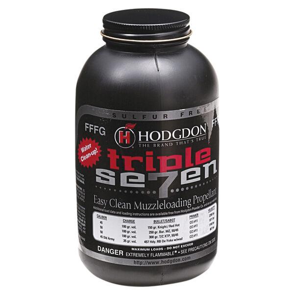 Hodgdon Triple Se7en FFFG Granular Powder, .50 and smaller, 16-oz.