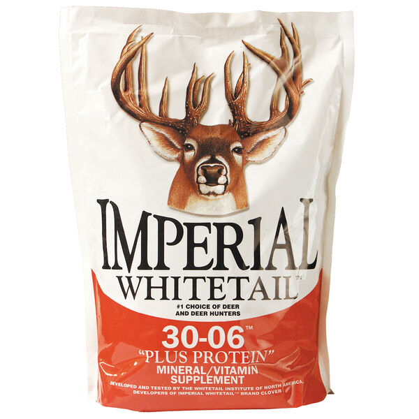 Whitetail Institute Imperial Whitetail 30-06 Plus Protein Supplement, 20 lbs.