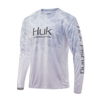 HUK Men's Icon X Camo Fade Long-Sleeve Shirt