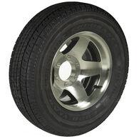 Goodyear Endurance ST225/75 R 15 Radial Trailer Tire, 6-Lug Aluminum Black Star