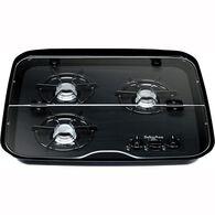 3 Burner Drop-In Flush Mount Glass Cover