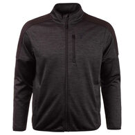 Huntworth Men's Heather Performance Fleece Jacket