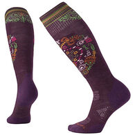 SmartWool Women's PhD Ski Light Elite Pattern Socks
