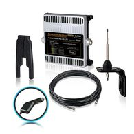 Smoothtalker RV X6 46 Pro 50dB 4G LTE Extreme Power Cellular Booster Kit, 12 Volt Plug-in Power