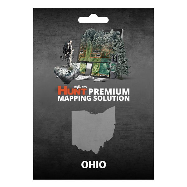 onXmaps HUNT GPS Chip for Garmin Units + 1-Year Premium Membership, Ohio