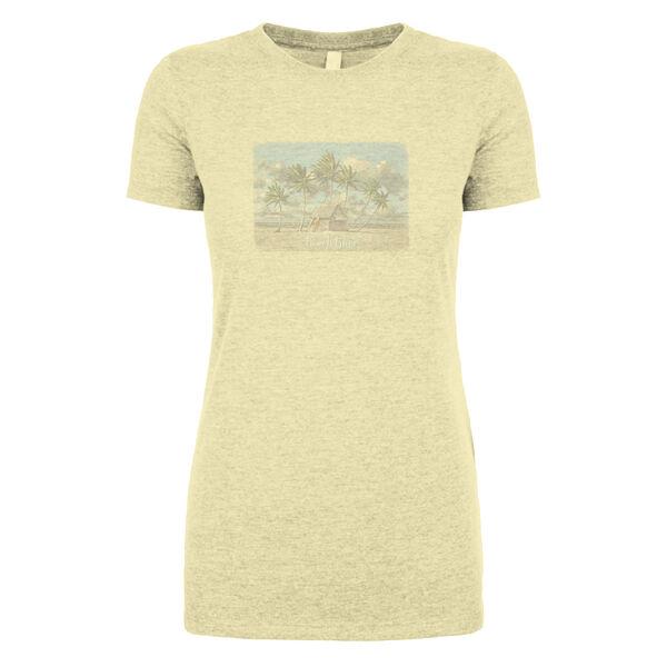 Coastal Women's Bum Short-Sleeve Tee