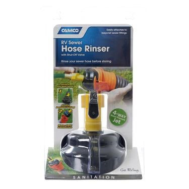 Sewer Hose Rinse Cap