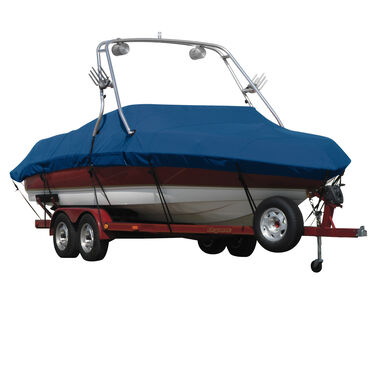 Sharkskin Boat Cover For Moomba Mobius Ls W/Wakeboard Tower Covers Platform