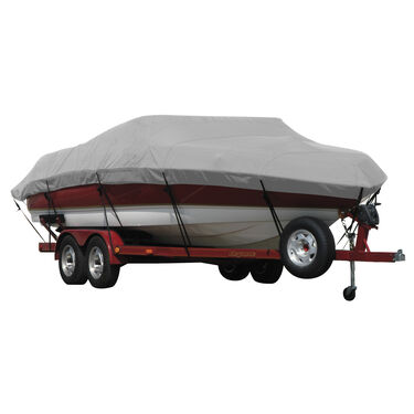 Exact Fit Covermate Sunbrella Boat Cover for Princecraft Super Pro 186 Super Pro 186 Fnp W/Ski Tow Removed W/Port Troll Mtr O/B