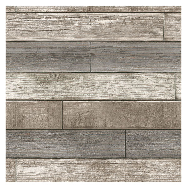 NuWallpaper Wood Peel-and-Stick Wallpaper