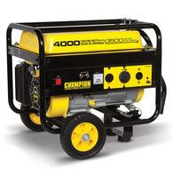 Champion 3500W/4000W Generator with Mobility Kit, 196CC