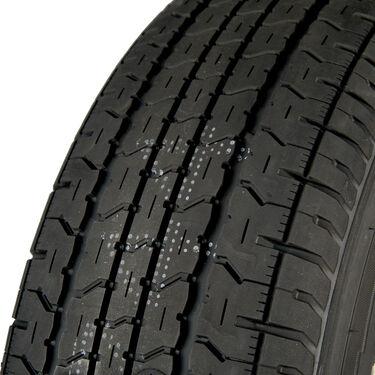Goodyear Endurance ST205/75 R 14 Radial Trailer Tire, 5-Lug White Spoke Rim