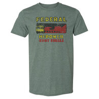 Federal Ammunition Men's Vintage Shotgun Shell Short-Sleeve Tee