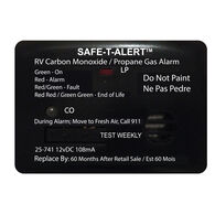 Safe T Alert 25 Series Mini Dual CO/Propane Alarm, Black