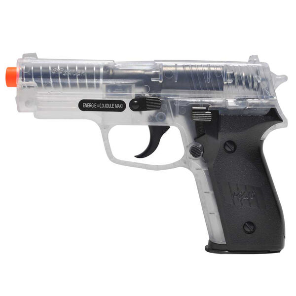 Palco Sig Sauer P228 Airsoft Pistol, Clear
