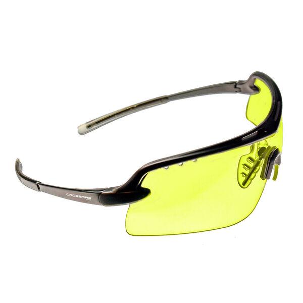 Radians Doubleshot Matte Black/Amber Shooting Eyewear