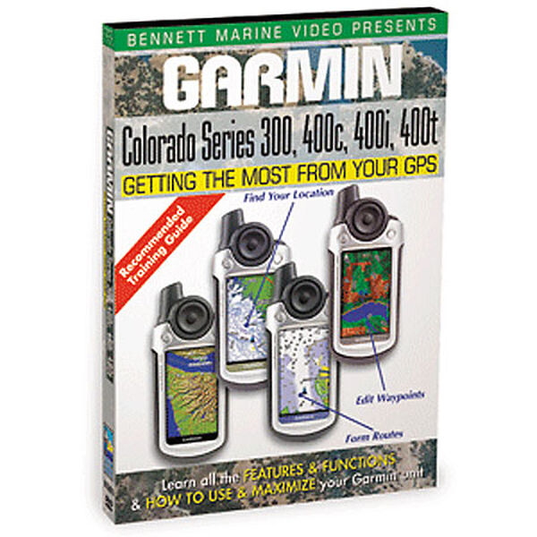 Bennett DVD - Garmin Colorado Series: 300, 400c, 400i, 400t