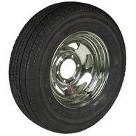 Goodyear Endurance ST225/75 R 15 Radial Trailer Tire, 6-Lug Chrome Directional R