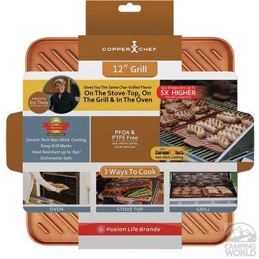 """Copper Chef 12"""" Non-Stick Grill"""