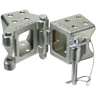"Fulton Marine Swing-Away Coupler Bracket, fits 3"" x 4"" tongue"