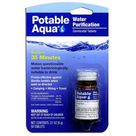 Potable Aqua Water Purification Tablets, 50-Count