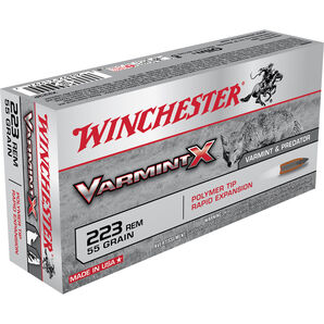Winchester Varmint X Ammo, .223 Rem, 55-gr., Polymer Tip