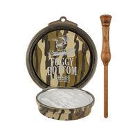 Primos Foggy Bottom Glass Pot Turkey Call, Mossy Oak Bottomland Camo
