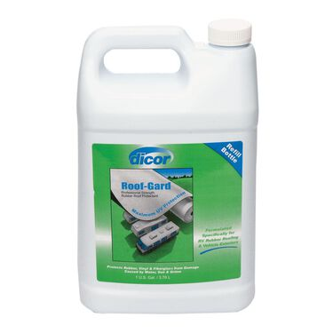 Dicor Roof-Gard Rubber Roof Protectant, Gallon