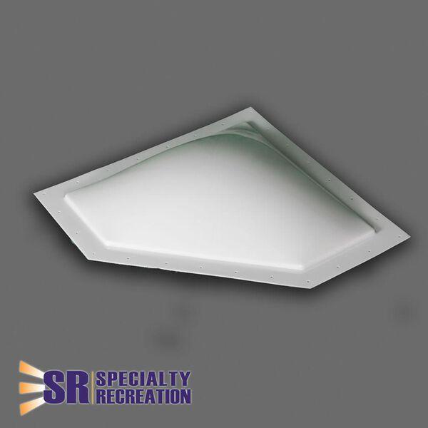 "Neo Angle White Skylight, 30"" x 13"""
