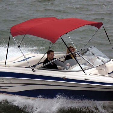 Shademate Polyester Stainless 3-Bow Bimini Top 6'L x 36''H 54''-60'' Wide