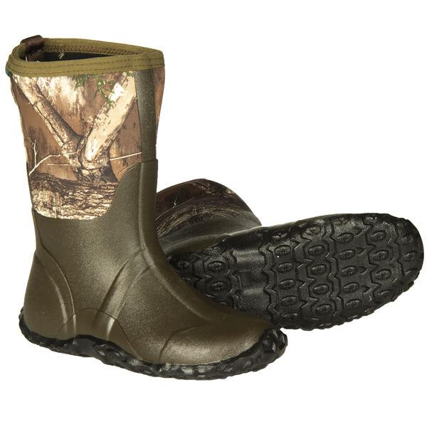"Hunter's Choice Youth Surge 11"" Waterproof Hunting Boot, Realtree Edge Camo"
