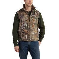 Deals on Carhartt Mens Quick Duck Camo Vest