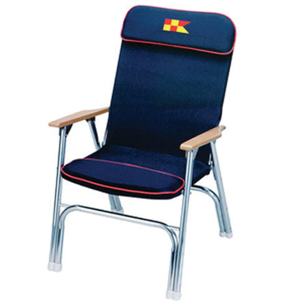 EEz-In Padded Folding Deck Chair