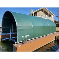 The Boat Garage Retractable Boat Dock Cover