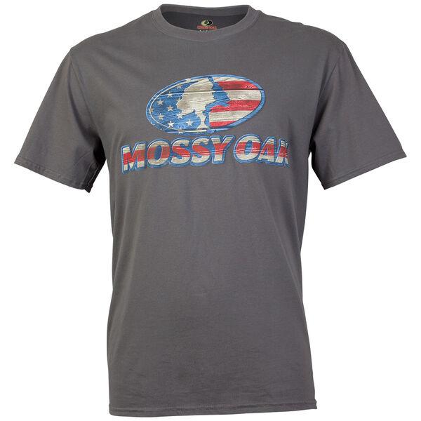 Mossy Oak Men's Camo Logo Short-Sleeve Tee