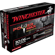 Winchester Super-X Power Max Bonded Rifle Ammo, .30-06 Springfield, 150-gr., PHP