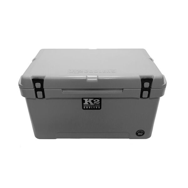 K2 Summit 50 Quart Cooler, Steel Gray