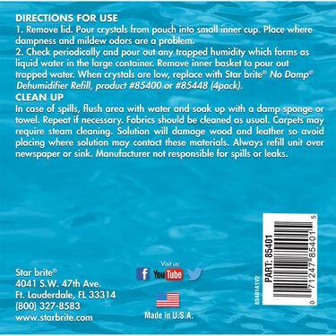 Star Brite No Damp Dehumidifier Bucket, 36 oz.