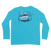 Guy Harvey Men's PINELINE MARLIN PRO UVX Long-Sleeve Tee