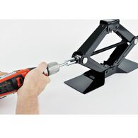 Ultra Scissor Jack Drill Attachment, Fits T-Slotted Jacks
