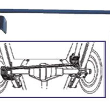 """Rear Stabilizer Bar - For Chevy/Workhorse P32, 19.5"""""""
