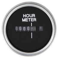"""Sierra Black Sterling 2"""" Hour Meter"""