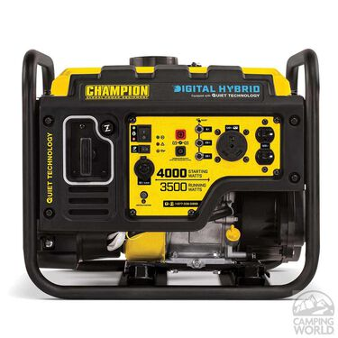 Champion 3500/4000-Watt RV Ready Digital Hybrid Open Frame Inverter with Quiet Technology