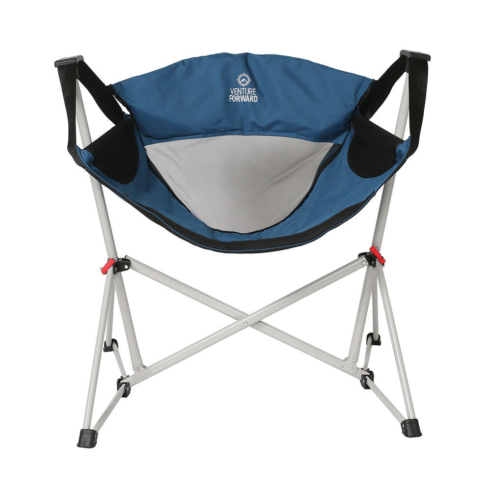 Venture Forward Swing Chair Blue Gander Outdoors