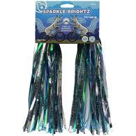 Sparkle Brightz Light-Up Handlebar Streamers, Blue