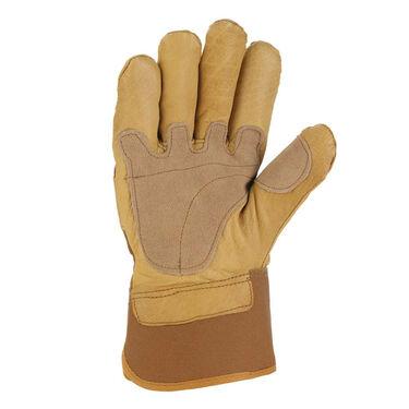 Carhartt Men's Grain-Leather Safety Cuff Work Glove